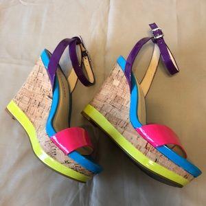 Gianni Bini very cute sandals/ wedges. Size 6.5